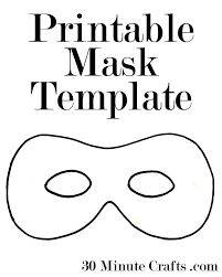 Super Hero Mask  Free Template   Things To Make