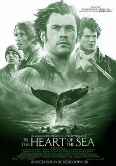 IN THE HEART OF THE SEA  is een Amerikaanse avonturenfilm uit 2015 onder regie van Ron Howard. De film is gebaseerd op het gelijknamige non-fictieboek uit 2000 over het zinken van de walvisjager Essex in 1820. Dit voorval was de inspiratie voor het verhaal van Moby-Dick uit 1851. Met Chris Hemsworth en Benjamin Walker in de hoofdrollen.