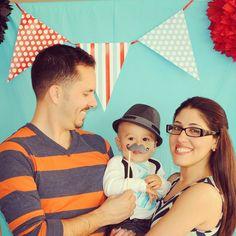 "Photo 1 of 13: Little Man Mustache Bash / Birthday ""Adrian's Mustache Bday Bash!""   Catch My Party"
