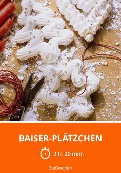Baiser-Plätzchen - smarter - Zeit: 2 Std. 20 Min. | eatsmarter.de