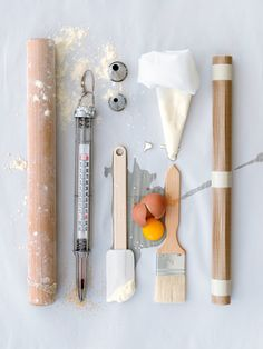 A great artistic pic of the basic Culinary tools all foodies should have