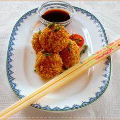 Receta de bolitas de arroz con palitos de mar y atún
