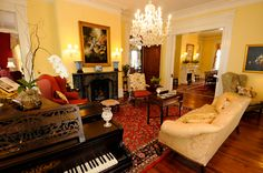 A historic bed and breakfast in Charleston, SC...