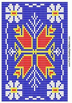 free-beading-pattern-medicine-bag-woodland-blue