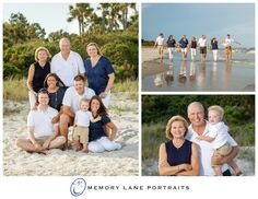 The beach brings families together like no other.