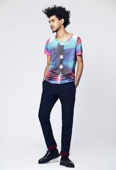 T-shirt Scarabée & pantalon Bombeiro - pour homme - marque Boys don't cry / Men's t-shirt - Boys don't cry brand