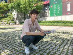 Ha min A-teen webdrama Korean Music, Korean Drama, Korean Outfits School, Teen Web, Teen Images, Korean Male Actors, Ex Bf, Web Drama, Cute Korean Boys