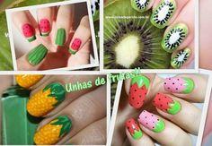 Nail Art: fruits #nails #fruitnails #nailart #polish - bellashoot.com