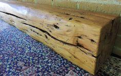 "Reclaimed Barn Beam Mantle 55"" x 8"" x 8"" - Whimsical Mantel - Fireplace Mantel - Rustic Mantle Shelf - Antique Barnwood Shelf - Home Decor by Harvestbilt on Etsy"