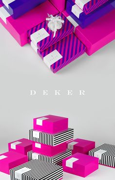 Deker Patissier & Chocolatier is a leading confectionary and café chain based in Poland.  We delivered complete rebranding and visual identity design – from packaging, through promotional objects, to interior design concept.