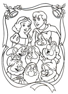 Snow White coloring picture lily coloring pages Pinterest