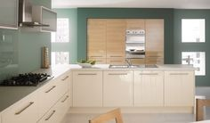 Beauty of Cream Gloss Kitchen Doors - In the world of high gloss, don't look further than cream gloss kitchen doors because of the beautifying effects which give your kitchen the transformation from a regular kitchen to a kitchen out of this world with finishes beyond the ordinary.