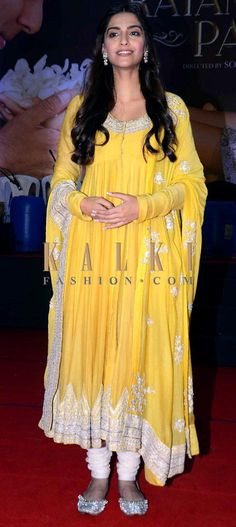 Must have Bollywood style! Find a style match to the celebrity look of your choice @ http://www.kalkifashion.com/salwar-kameez/anarkali-salwar-kameez.html