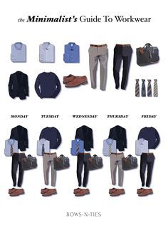 The Minimalist's Guide To Menswear Business Casual