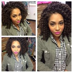 gorg twist out using #SheaMoisture curl enhancing smoothie and the waajid curl sealer. @Sasha Hatherly Hatherly Tania