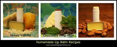 Lip Balm Collage