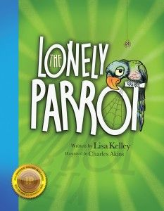 The Lonely Parrot, a children's book