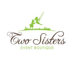 Two Sisters Event Boutique Logo design for events company