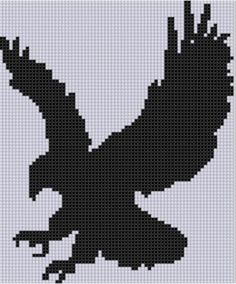 Looking for your next project? You're going to love Eagle 5 Cross Stitch Pattern  by designer Motherbeedesigns. - via @Craftsy