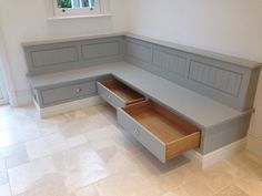 built in bench seat kitchen - Google Search