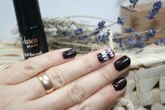 Vasco 101 Deep Red, czyli pierwszy hybrydowy manicure, którego nie wstydzę się pokazać :)