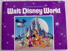 R.I.P. December 5, 1901 - Dec 15, 1966 Walt Disney - Pictorial Souvenir Of Walt Disney World Orlando Florida Softcover Book 1991