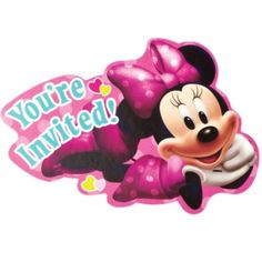 Minnie Mouse Invitations - Party City