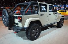 """Fields Chrysler Jeep Dodge Ram is proud to participate in The Chicago Auto Show 2017. From #Jeep, we have the all-new 2017 Jeep #Wrangler Unlimited #Rubicon. The Wrangler Unlimited Rubicon is the vehicle others are measured against for off-road capability. Factory-engineered to satisfy the desires of off-roaders who want uncompromising performance in a production vehicle, it was named """"4x4 of the Decade"""" by Four Wheeler Magazine.  Learn more about The #ChicagoAutoShow at chicagoautoshow.com"""