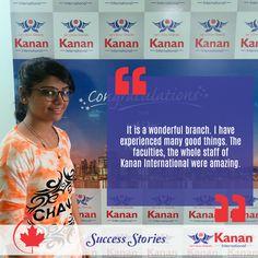 Congratulations Rikita Patel on attaining your #studentvisa for #Canada!  http://www.kananinternational.com/