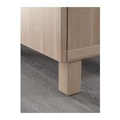 IKEA - METOD / FÖRVARA, Mobile alto con cassetti, effetto legno nero ...