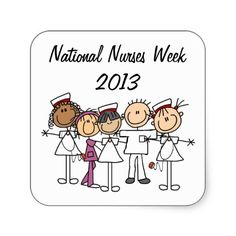 Nurses Week T-shirts and Gifts Sticker