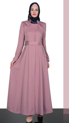 2014-ilkbahar-yaz | Katalog | Soydan Güner | Tesettür Giyim Moslem Fashion, Arab Fashion, Islamic Fashion, Model Baju Hijab, Modest Dresses, Casual Dresses, Estilo Abaya, Hijab Style Dress, Hijab Chic