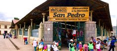 A virtual tour of the San Pedro Market in Cusco.