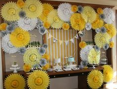 Un espectacular fondo de abanicos / A spectacular fan background