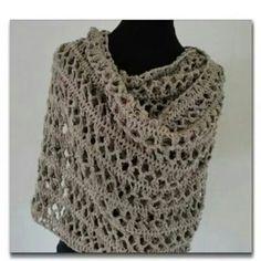 Pink ribbon shawl