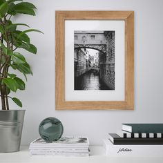DALSKÄRR Frame, wood effect, light brown, Can be hung horizontally or vertically to fit in the space available. Front protection in plastic makes the frame safer to use. Hanging Picture Frames, Wooden Picture Frames, Photo Picture Frames, Hanging Pictures, Collage Frames, Frames On Wall, Gold Frames, Grandes Photos, Stencils