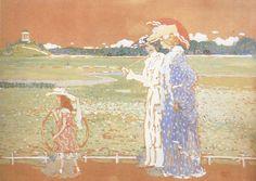 Wassily Kandinsky - Summer, 1901