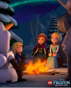 """Gather friends and family together and enjoy the new short """"Frozen: Northern Lights. Only on Disney Channel. Elsa Frozen, Disney Frozen, Disney Movies, Disney Characters, Fictional Characters, Disney Wallpaper, Disney Channel, Beauty And The Beast, Art Pictures"""