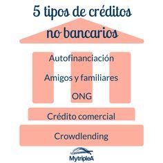 Estos son los 5 tipos de créditos no bancarios que podemos encontrar. ¿Cuál es tu favorito?