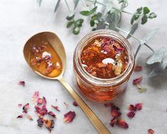 How To Make Rose Petal Honey #DIY #Health