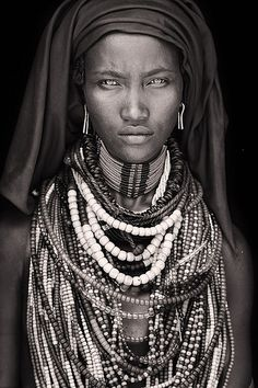 Baro Tura, from the Arbore people of #Ethiopia. Photo taken by photojournalist Mario Gerth. #africa