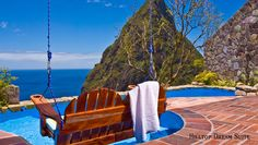 Ladera in St Lucia