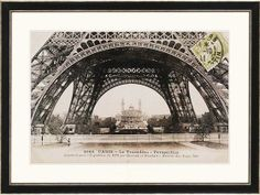 La Base De La Tour Eiffel Framed Wall Art - Art Prints - Wall Decor - Home Decor | HomeDecorators.com