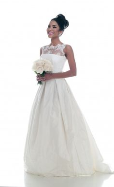 White Dresses Bridal Boutique + Stephanie Allin Couture + Model Aarendy Gomez + Chuck St. John Photography