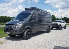 Just finished this #roofrack for this awesome #4x4 #mercedes_benz #sprintervan…