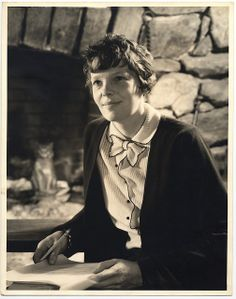 Amelia Earhart 1935 by George Eastman House, via Flickr