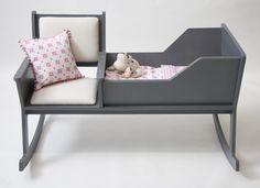 Rockid Schommelstoel Wieg : Wieg en schommelstoel ontwerpduo home is wherever i m with