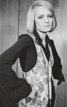 Barbara Hulanicki, 1960s. She was the founder of Biba the ground floor for fashion. All things fashion took place here. The movers and shakers would frequent Biba. A unique way to present Fashion to clients and the world.