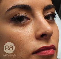 Micropigmentación de Labios realizada por Eugenia Arrieta. Difuminado y relleno de labios.