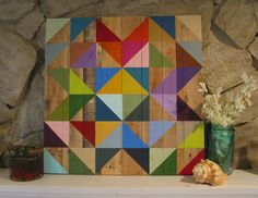Amazon.com: Rustic Barn Quilt: Handmade